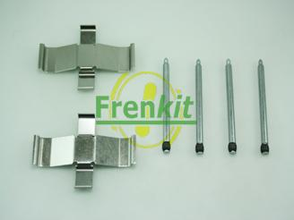 Frenkit 900945 - Piederumu komplekts, Disku bremžu uzlikas interparts.lv