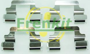 Frenkit 901610 - Piederumu komplekts, Disku bremžu uzlikas interparts.lv