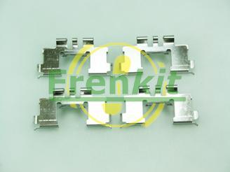 Frenkit 901677 - Piederumu komplekts, Disku bremžu uzlikas interparts.lv