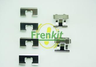 Frenkit 901091 - Piederumu komplekts, Disku bremžu uzlikas interparts.lv