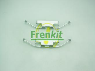 Frenkit 901097 - Piederumu komplekts, Disku bremžu uzlikas interparts.lv