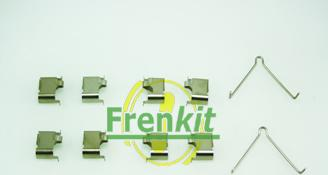 Frenkit 901166 - Piederumu komplekts, Disku bremžu uzlikas interparts.lv