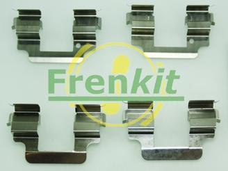 Frenkit 901806 - Piederumu komplekts, Disku bremžu uzlikas interparts.lv