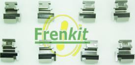 Frenkit 901298 - Piederumu komplekts, Disku bremžu uzlikas interparts.lv