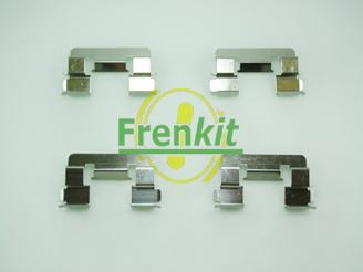Frenkit 901293 - Piederumu komplekts, Disku bremžu uzlikas interparts.lv