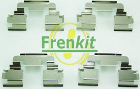 Frenkit 901249 - Piederumu komplekts, Disku bremžu uzlikas interparts.lv