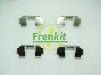 Frenkit 901276 - Piederumu komplekts, Disku bremžu uzlikas interparts.lv