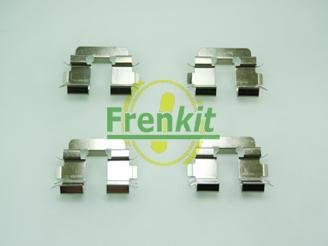 Frenkit 901272 - Piederumu komplekts, Disku bremžu uzlikas interparts.lv