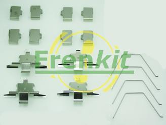 Frenkit 901791 - Piederumu komplekts, Disku bremžu uzlikas interparts.lv