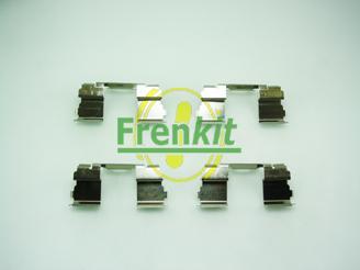 Frenkit 901725 - Piederumu komplekts, Disku bremžu uzlikas interparts.lv