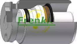 Frenkit K344801 - Virzulis, Bremžu suports interparts.lv
