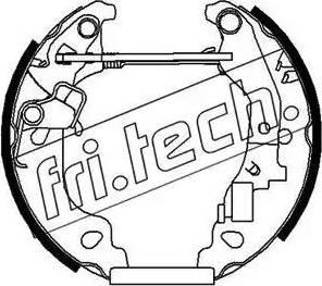 Fri.Tech. 16167 - Bremžu komplekts, trumuļa bremzes interparts.lv