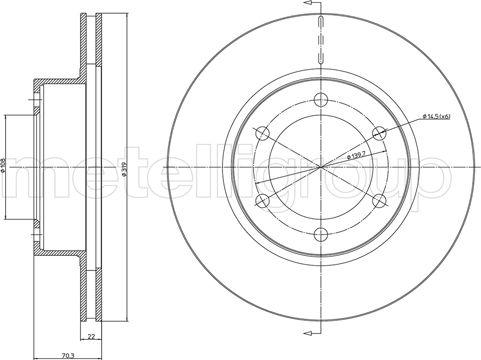 Fri.Tech. BD0427 - Bremžu diski interparts.lv