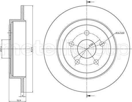 Fri.Tech. BD0690 - Bremžu diski interparts.lv