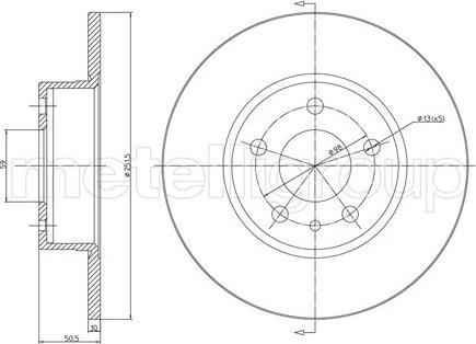 Fri.Tech. BD0648 - Bremžu diski interparts.lv