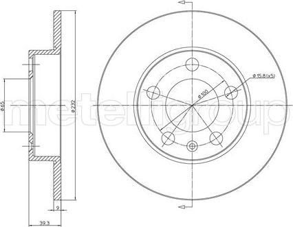 Fri.Tech. BD0149 - Bremžu diski interparts.lv