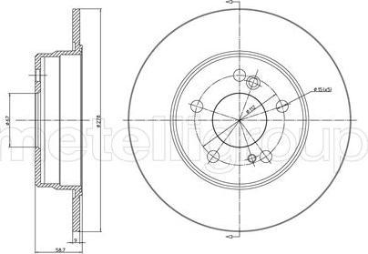 Fri.Tech. BD0147 - Bremžu diski interparts.lv