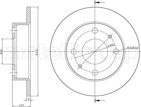 Fri.Tech. BD0865 - Bremžu diski interparts.lv