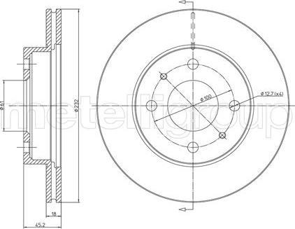 Fri.Tech. BD0397 - Bremžu diski interparts.lv