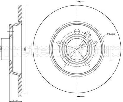 Fri.Tech. BD0218 - Bremžu diski interparts.lv