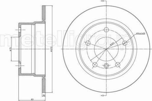 Fri.Tech. BD0762 - Bremžu diski interparts.lv