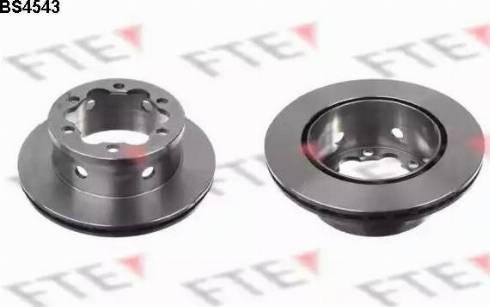 FTE BS4543 - Bremžu diski interparts.lv