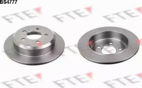 FTE BS4777 - Bremžu diski interparts.lv