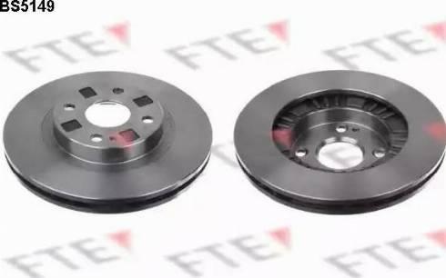 FTE BS5149 - Bremžu diski interparts.lv