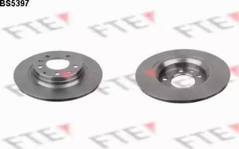 FTE BS5397 - Bremžu diski interparts.lv