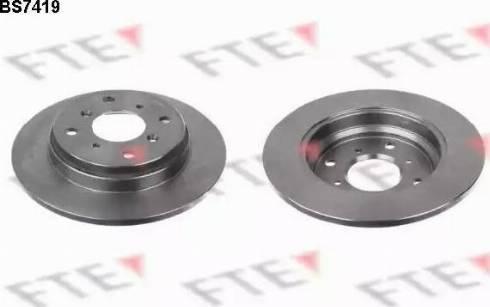FTE BS7419 - Bremžu diski interparts.lv