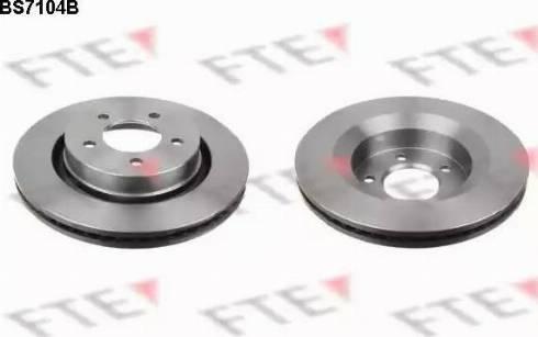 FTE BS7104B - Bremžu diski interparts.lv