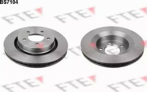 FTE BS7104 - Bremžu diski interparts.lv