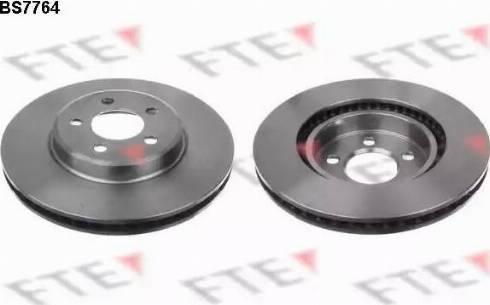 FTE BS7764 - Bremžu diski interparts.lv