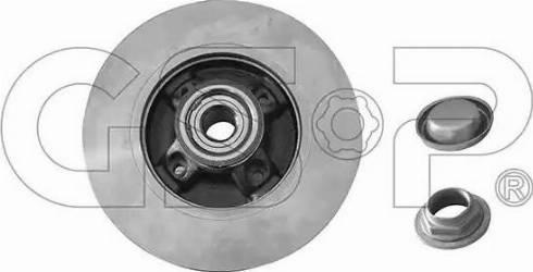 GSP 9230148K - Bremžu diski interparts.lv
