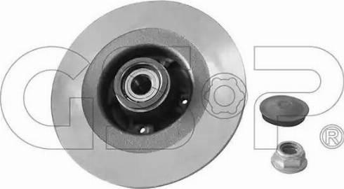 GSP 9225041K - Bremžu diski interparts.lv