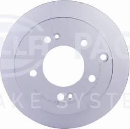 HELLA 8DD 355 125-301 - Bremžu diski interparts.lv