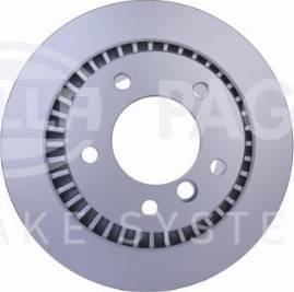HELLA 8DD 355 126-331 - Bremžu diski interparts.lv