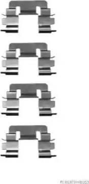 Herth+Buss Jakoparts J3662015 - Piederumu komplekts, Disku bremžu uzlikas interparts.lv