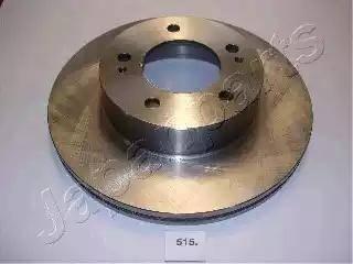 Japanparts DI-515 - Bremžu diski interparts.lv