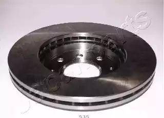 Japanparts DI-535 - Bremžu diski interparts.lv
