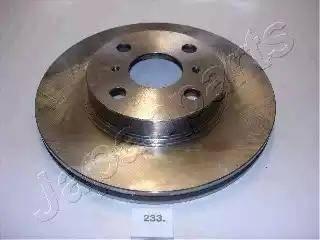 Japanparts DI-233 - Bremžu diski interparts.lv