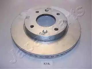 Japanparts DI-K14 - Bremžu diski interparts.lv