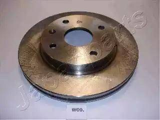 Japanparts DI-W09 - Bremžu diski interparts.lv