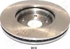 Japanparts DI-W15 - Bremžu diski interparts.lv