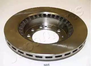 Japanparts DP-505 - Bremžu diski interparts.lv