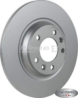 JP Group 4163200700 - Bremžu diski interparts.lv