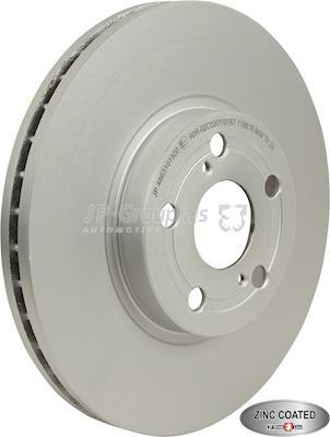 JP Group 4863101500 - Bremžu diski interparts.lv