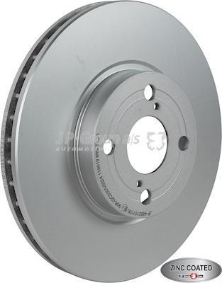 JP Group 4863101100 - Bremžu diski interparts.lv
