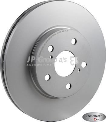 JP Group 4863102000 - Bremžu diski interparts.lv