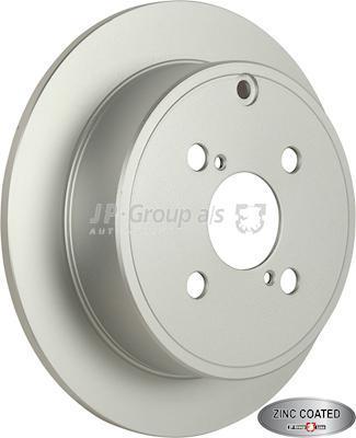 JP Group 4863200700 - Bremžu diski interparts.lv
